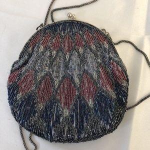 La Regale Evening Bag Purse Clutch Handbag Sequins